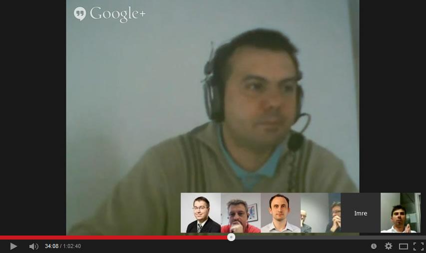 Magyar Webmester Hangout