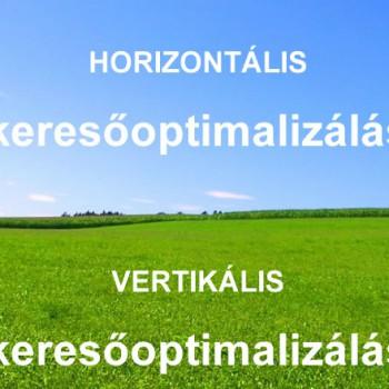 horizontális vertikális keresőoptimalizálás