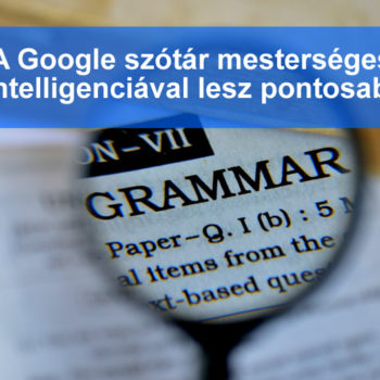 Google szótár mesterséges intelligenciával