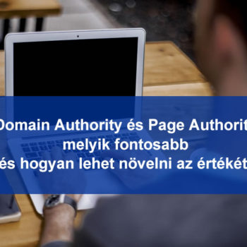 Domain authority és Page authority