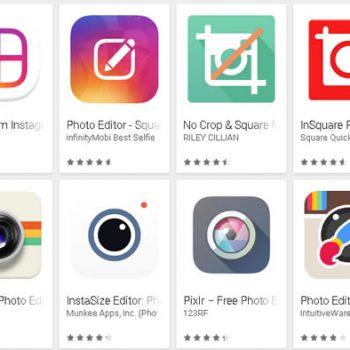 Instagram képszerkesztő alkalmazások