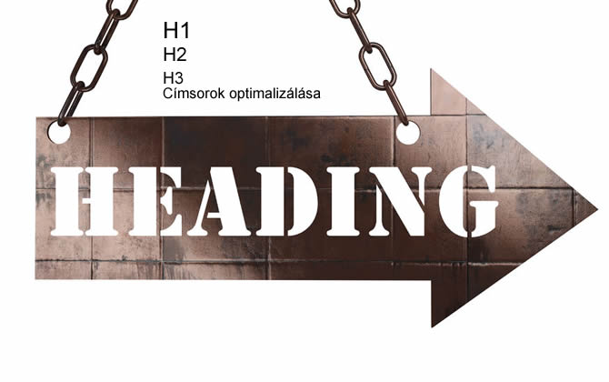 H1, H2, H3 címsorok optimalizálása