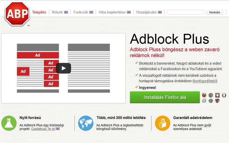 Google, Microsoft, és az Amazon fizetne az Adblock Plus-nak