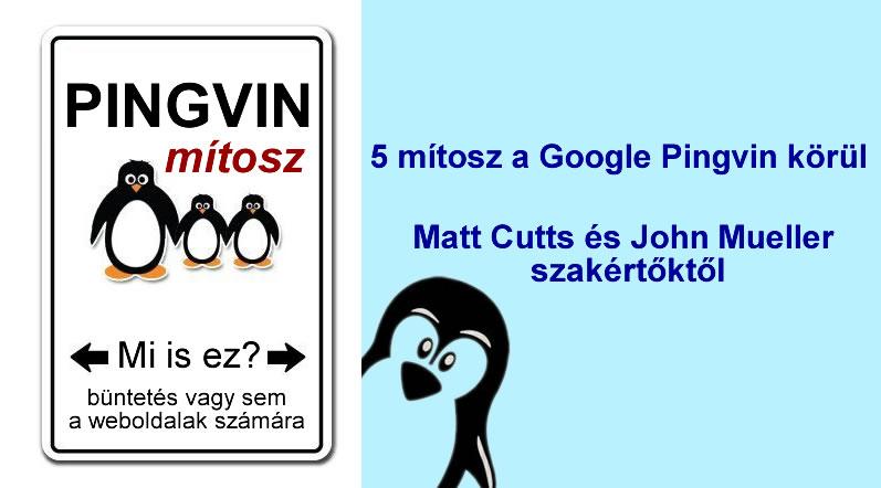 Google pingvin mítosz