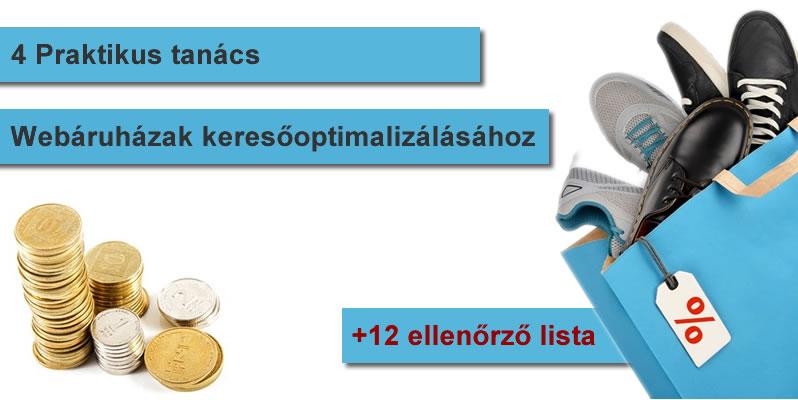Webáruházak keresőoptimalizálása 4 trendi tipp és 12 ellenőrző lista