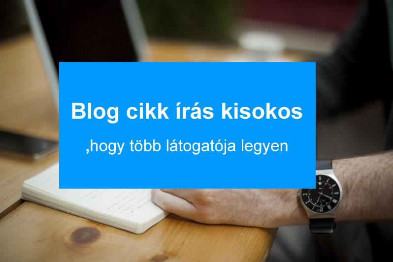 blog cikk írás kisokos