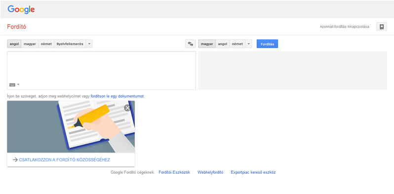 Google szótár