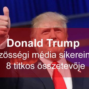 Donald Trump közösségi marketing taktikája