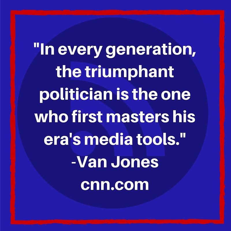 Van Jones véleménye a média eszközök használatáról