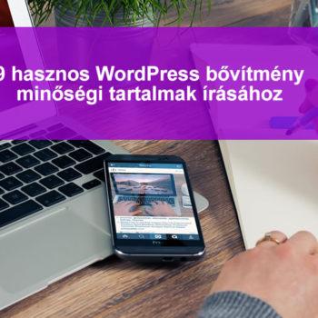 9 wordpress plugin minőségi cikkek írásához