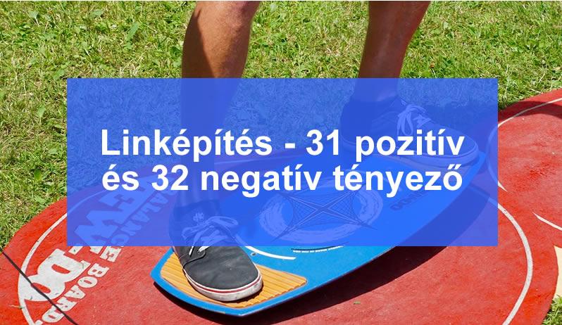 Linképítés pozitív és negatív tényezőiről