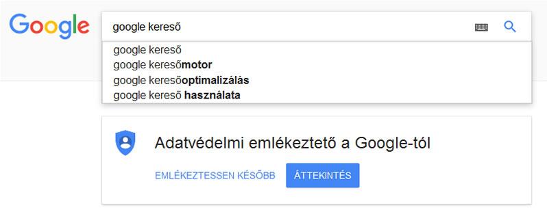 476bd3ffa3 A Google keresőben így jutunk előre - Kulcsszo.hu