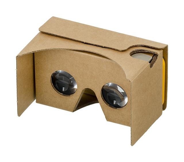 olcsó 3d VR szemüveg karton papírból is lehet