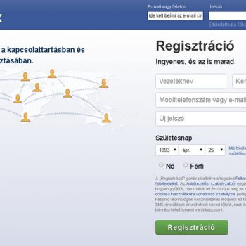 Facebook bejelentkezés és belépés