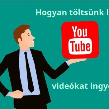 Hasznos programok Youtube videókt letöltéséhez