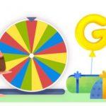 Idén is lesz Google születésnapi szerencsekerék?!