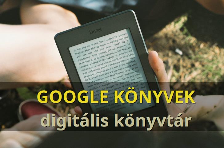 Google Könyvek, egy digitális könyvtár