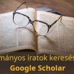 Google Scholar, a Google tudományos keresője