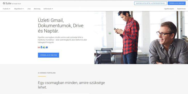 Google Webhelyek, kezdetek
